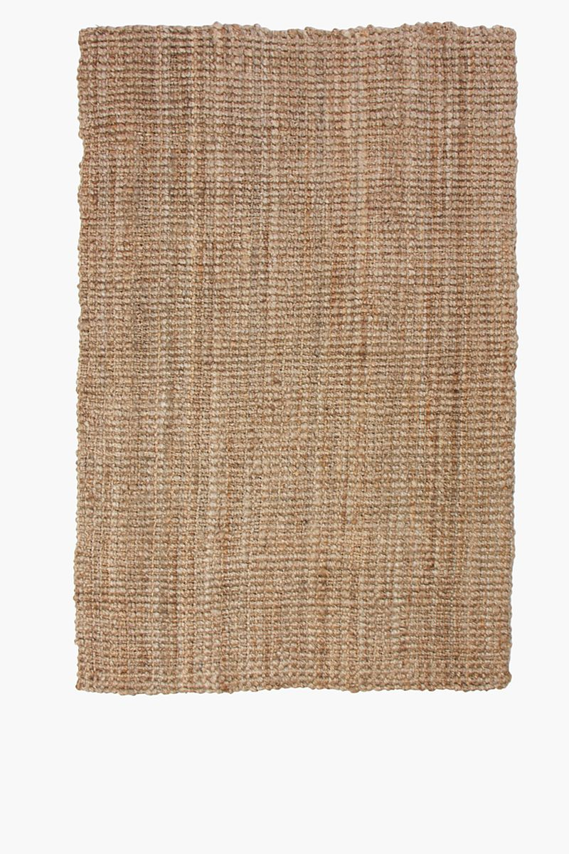 Knotted Jute 180x270cm Rug Rugs