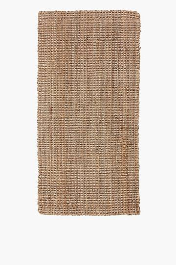Knotted Jute Rug, 70x140cm