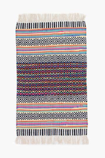 Multi Stripe Rug, 60x90cm