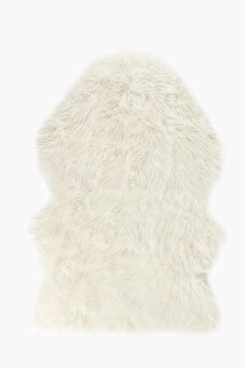 Faux Fur Animal Pelt, 76x115cm Rug