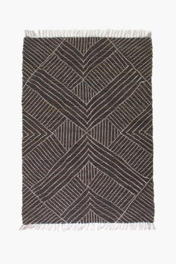 Printed Jute Kassala Rug, 120x180cm