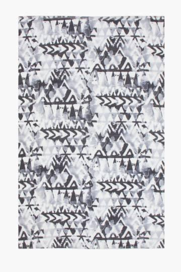 Printed Chindi Ghana Rug, 120x180cm