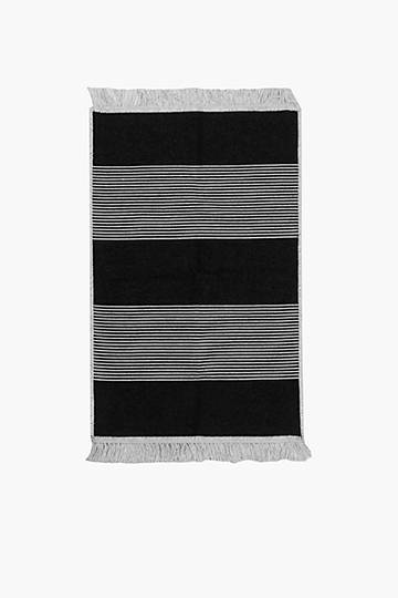 Woven Pacific Stripe Rug, 60x90cm