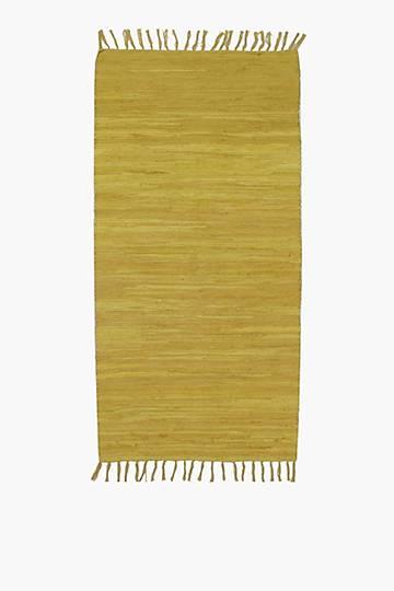 Plain Chindi Runner, 70x140cm