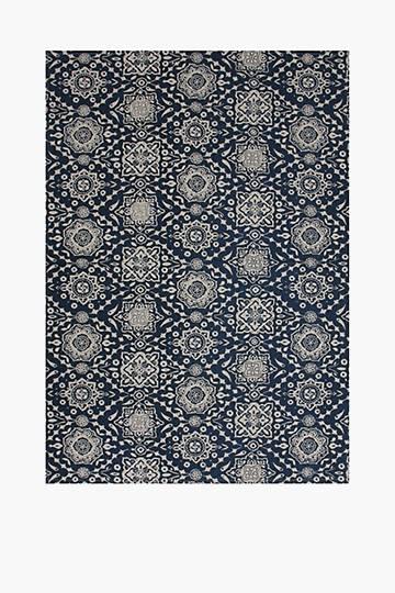 Printed Geometric Rug, 120x180cm