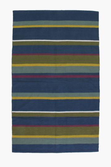 Jacquard Chelsea Stripe Rug, 120x180cm