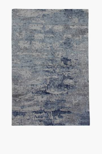 Chenille Abstract Rug, 120x180cm