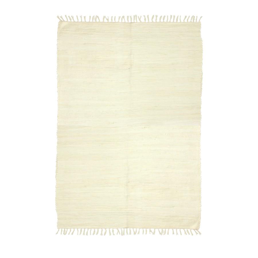 Agra Chindi Rug: Plain Chindi 50x80cm Rug