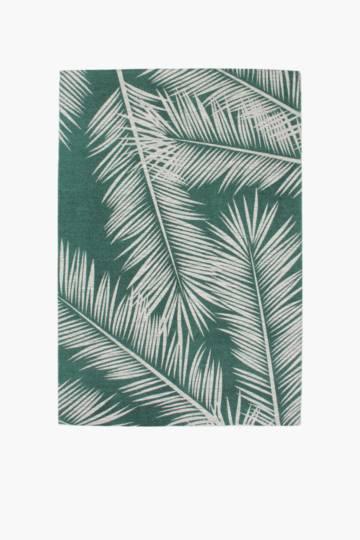 Printed Miami Palm Rug, 120x180cm