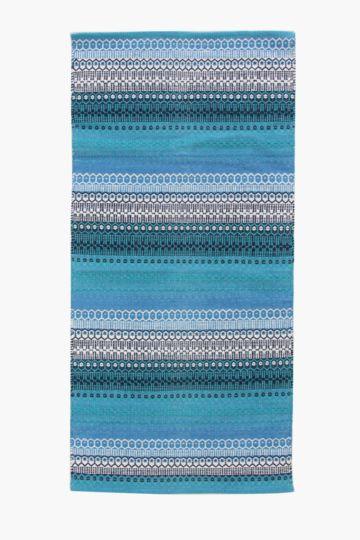 Multi Stripe Rug, 70x140cm