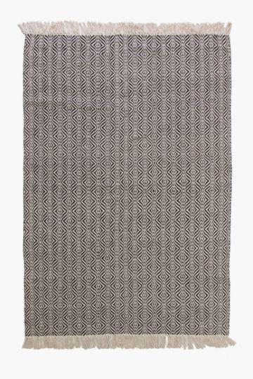 Jacquard Tassel Rug, 120x180cm
