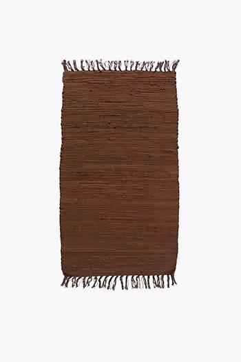 Plain Chindi Rug, 50x80cm