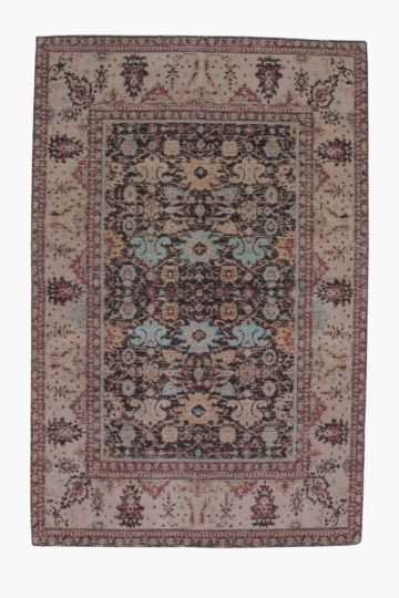 Chenille Distressed Boho Rug 120x180cm
