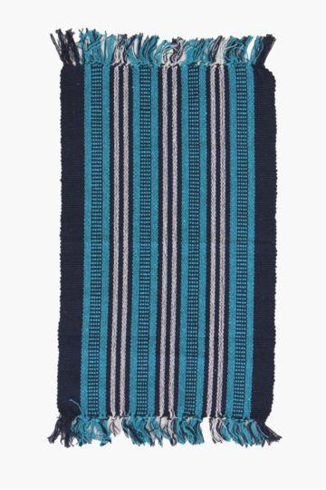 Fringe Stripe 50x80cm Rug