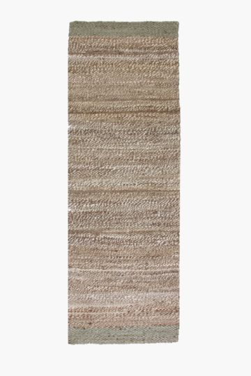 Jute Mingle Stripe Runner, 70x200cm