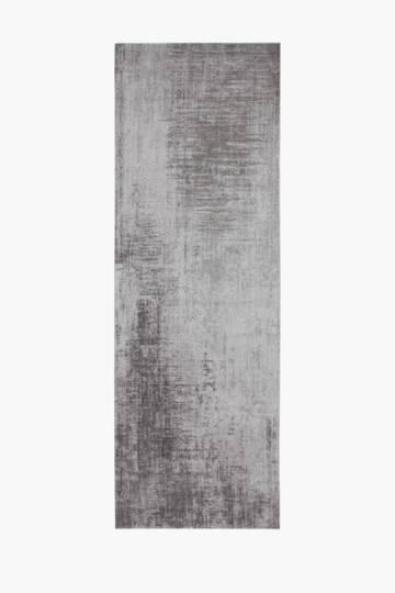 Chenille Paintbrush Rug, 80x240cm