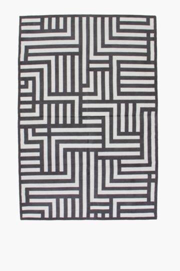 Chenille Linear Rug, 120x180cm