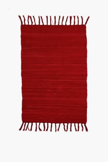 Plain Chindi 70x140cm Rug
