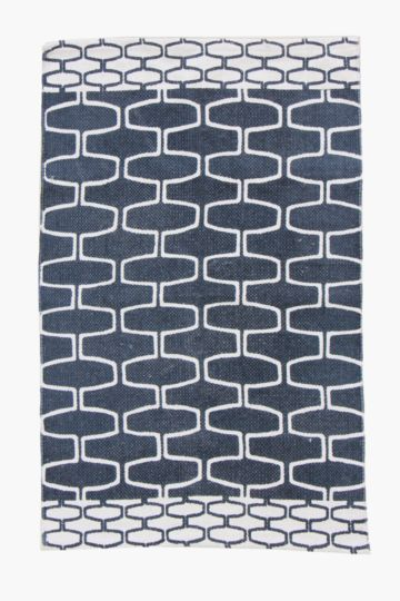 Printed Tswana Rug, 60x90cm