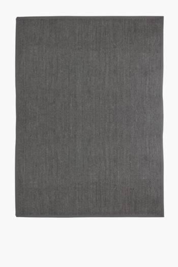 Marble Effect Jute Sisal Rug, 200x300cm