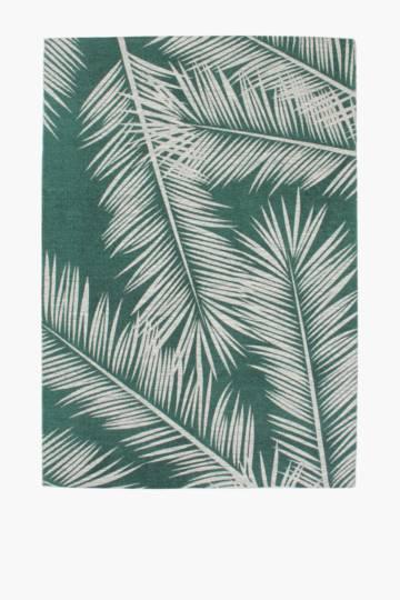 Printed Miami Palm Rug, 300x400cm