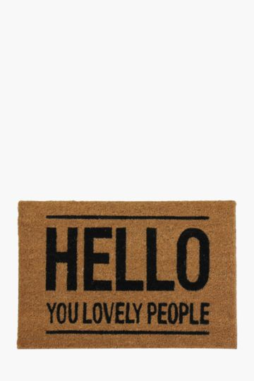 Lovely People 40x60cm Door Mat