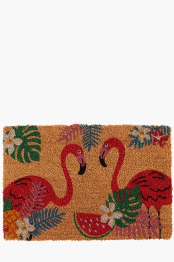 Flamingo Door Mat, 40x60cm