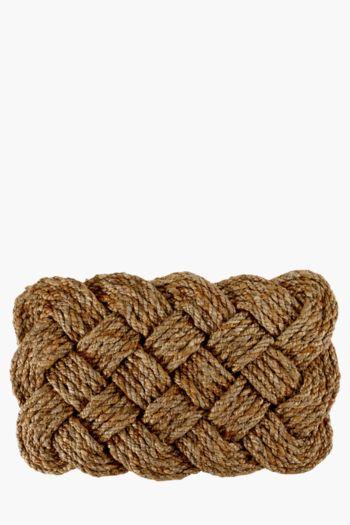 Jute Knot Mat, 40x60cm