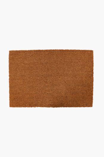 Plain Coir Door Mat, 40x60cm