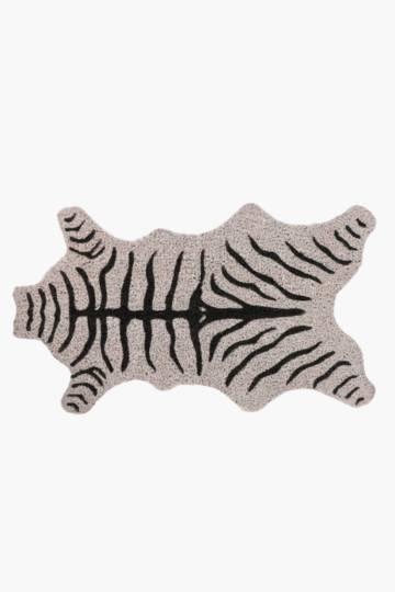 Coir Zebra Door Mat, 70x40cm