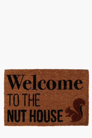 Coir Welcome Door Mat, 40x60cm