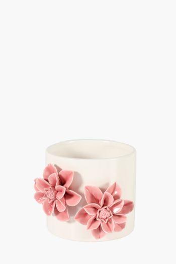 Ceramic Floral Planter