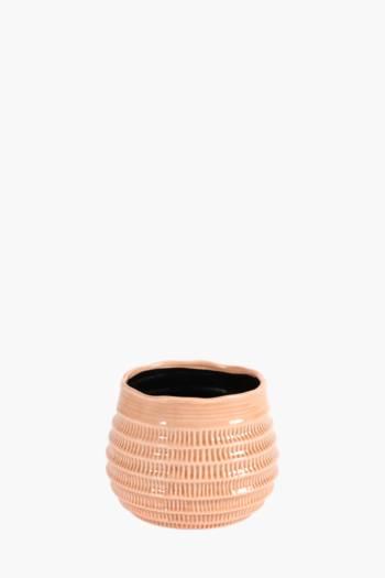 Ceramic Stipple Planter
