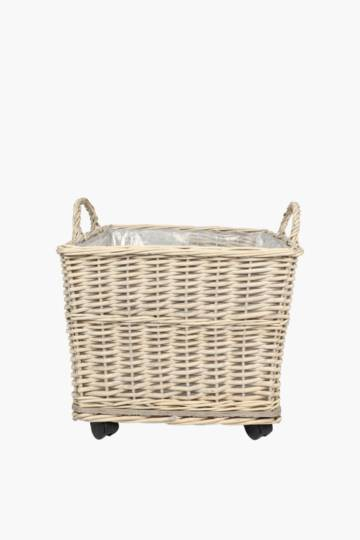 Woven Willow Tapered Planter Medium