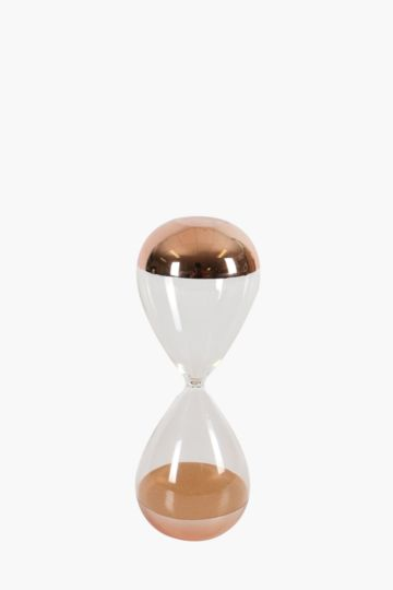 Dipped Glass Hourglass