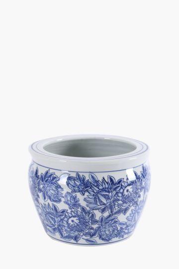 Delft Ceramic Planter