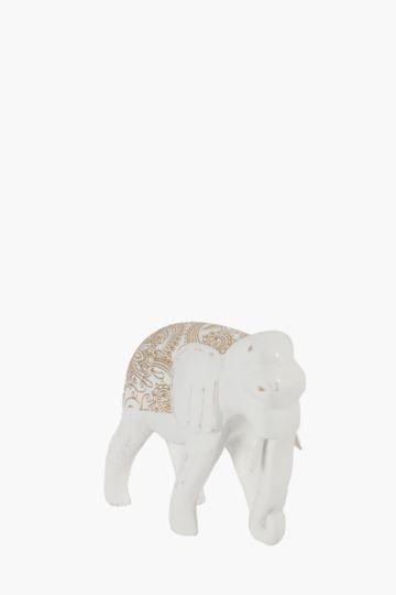 Elephant Embossed Statue Medium
