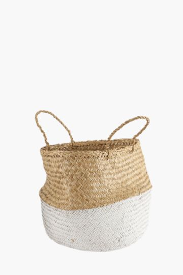 Woven Dipped Planter Large