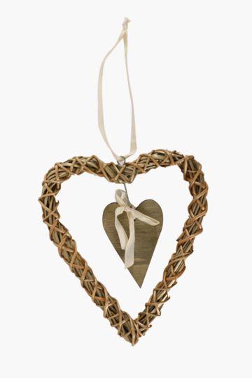 Willow Hanging Heart, Medium
