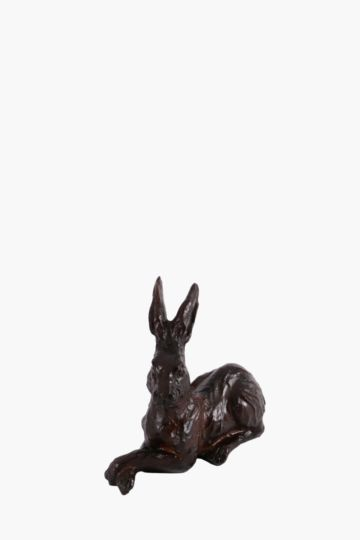 Seated Resin Bunny