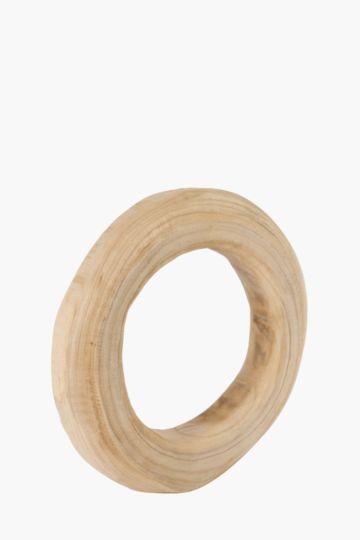 Raw Wood Standing Ring Medium