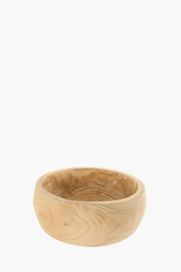 Raw Wood Planter Large