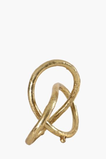 Metal Decor Knot Medium