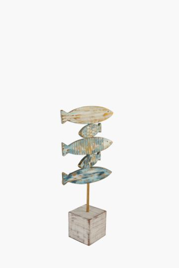 Stacked Fish On Plinth