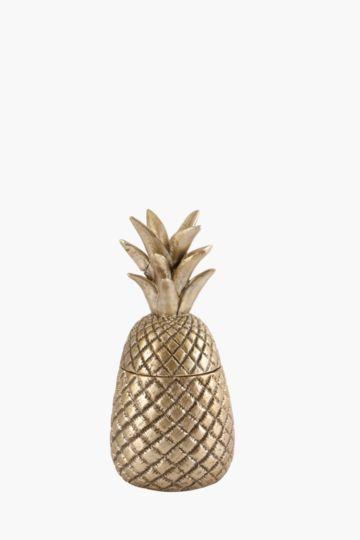 Pineapple Deco Jar