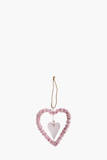 Willow Hanging Heart, Small