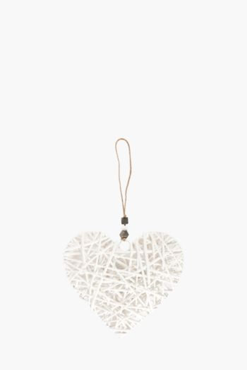 Woven Hanging Heart Small