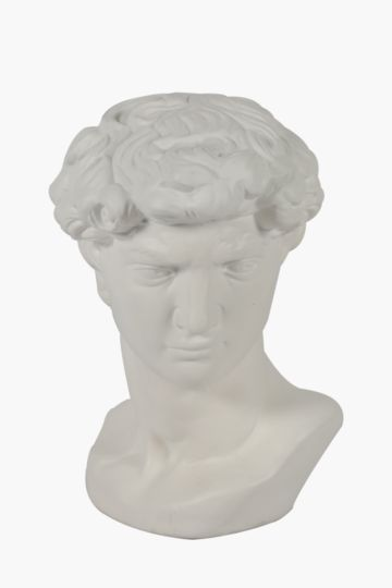 Ceramic Constantia David Statue