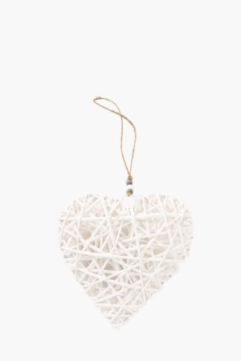 Woven Hanging Heart Medium