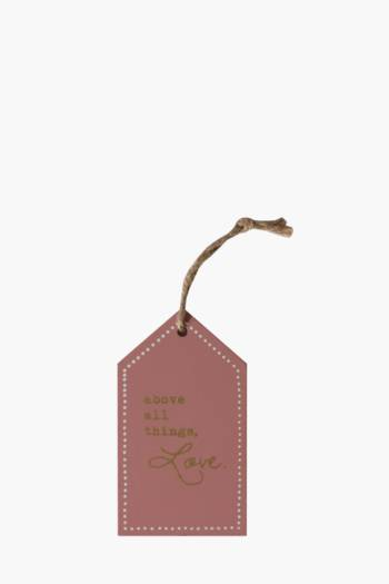 Script Hanging Tag
